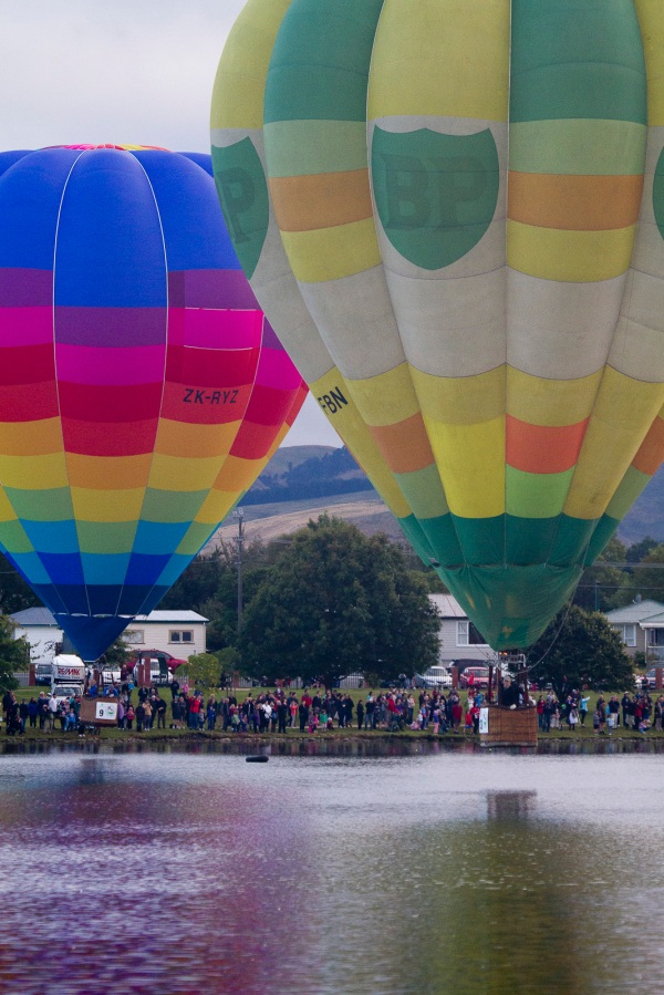 Hot Air  Balloon festival - Masterton