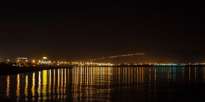 Reflections on Petone Beach