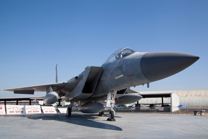 First responder ... F-15 Eagle at Pacific Coast Air Museum