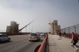 Fog-bound Golden Gate