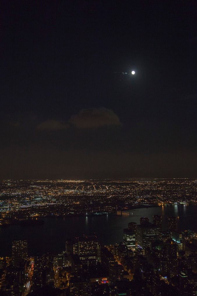Moonlight on the East River