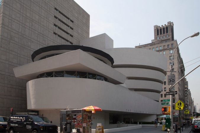 The Solomon R Guggenheim Museum, New York
