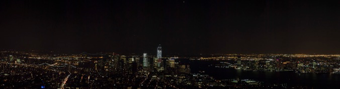 From the 86th floor observatory of the Empire State Building