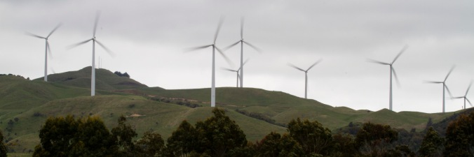 Apiti wind farm near Ashhurst