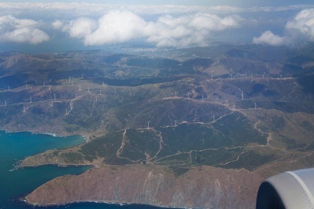 West Wind turbines near Makara