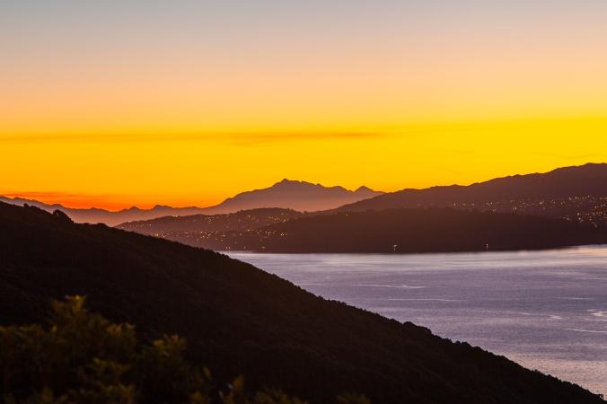 Mt Tapuae-o-Uenuku from Wainuiomata Hill