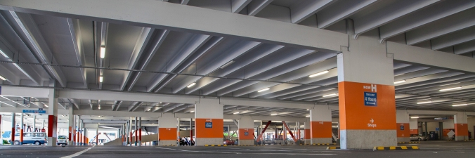 Westfield Queensgate carpark