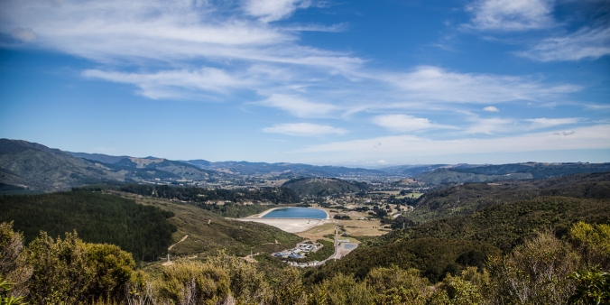 View over the upper valley ... Upper Hutt is beyond the next ridge