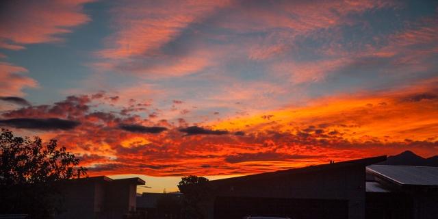 Glorious sunset - Queenstown