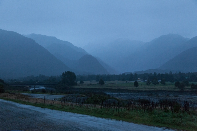 First light at Franz Josef