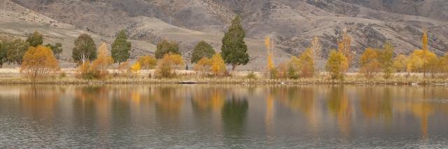 Reflecting on Lake Dunstan