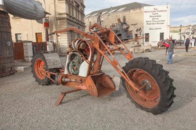 Steam punk motorcycle