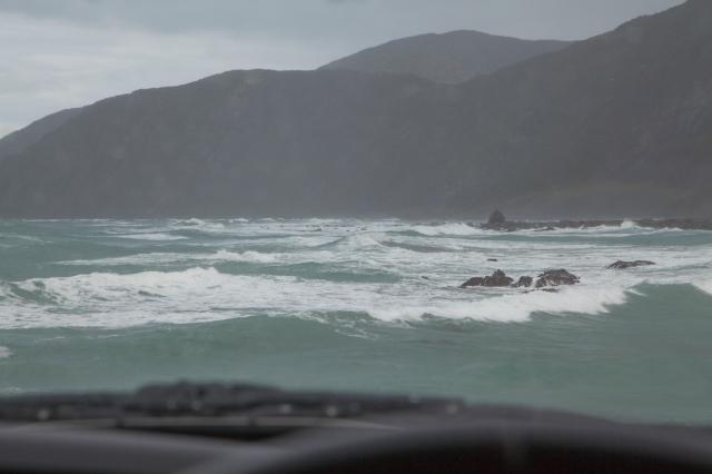 Relentless pounding waves