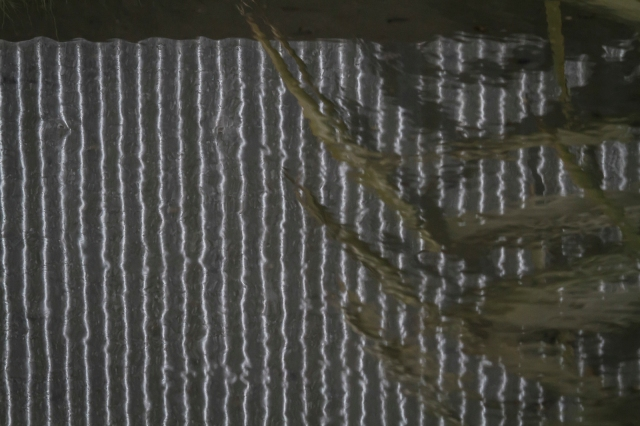 Reflected fence in an industrial stream