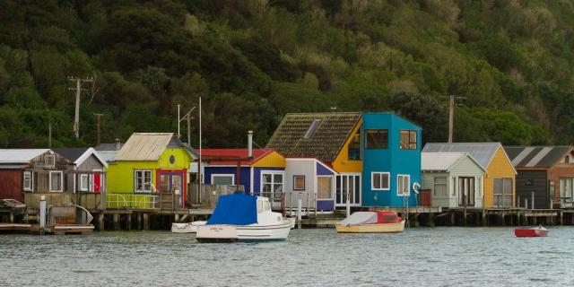 Boat sheds - Pauatahanui