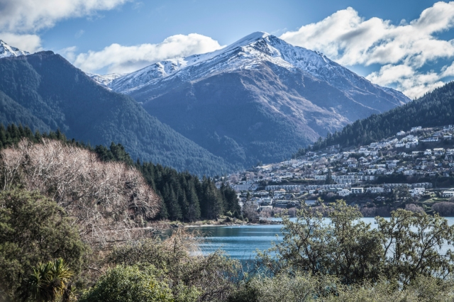 Ben Lomond out to the West of Queenstown