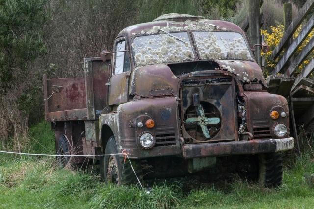 Derelict Bedford RL 4x4 Truck