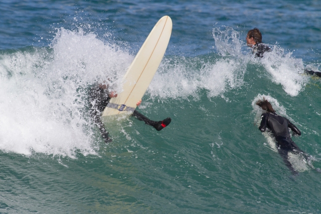 Surfers - Lyall Bay