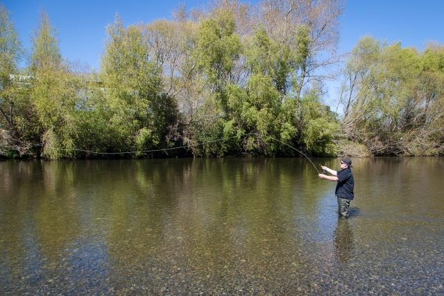 Troutfishing on the Hutt River