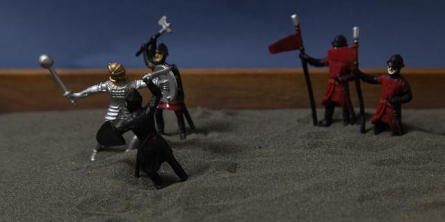 Sandbox warfare