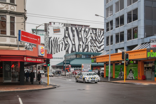 Courtenay Place and Tory Street