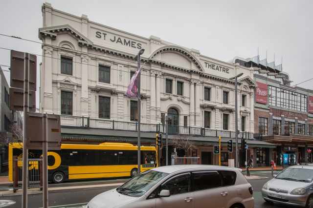 St James Theatre the largest theatre suitable for opera and ballet in town