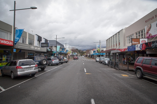 Upper Hutt's main shopping street