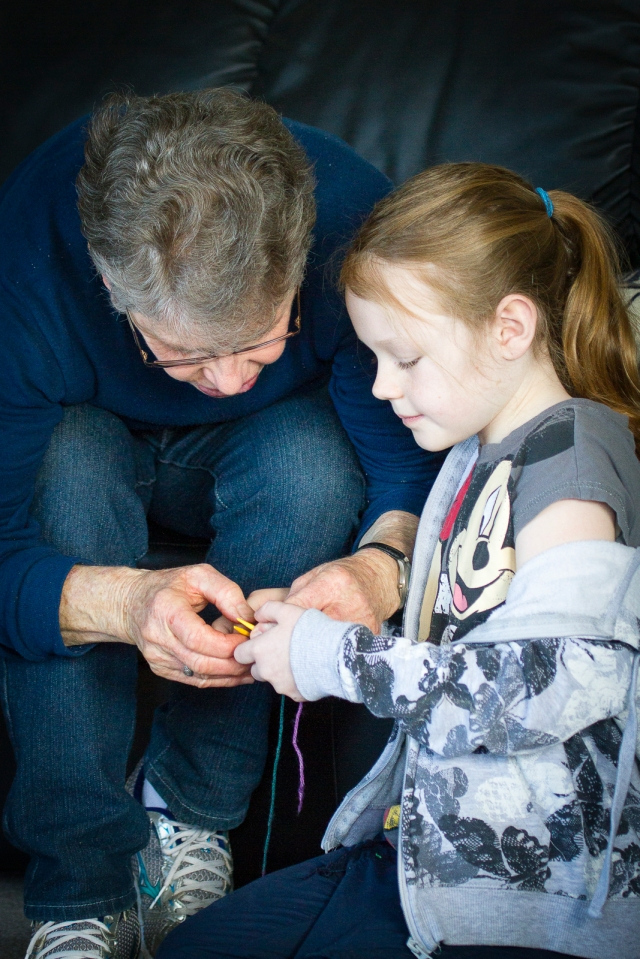 Knitting apprenticeship