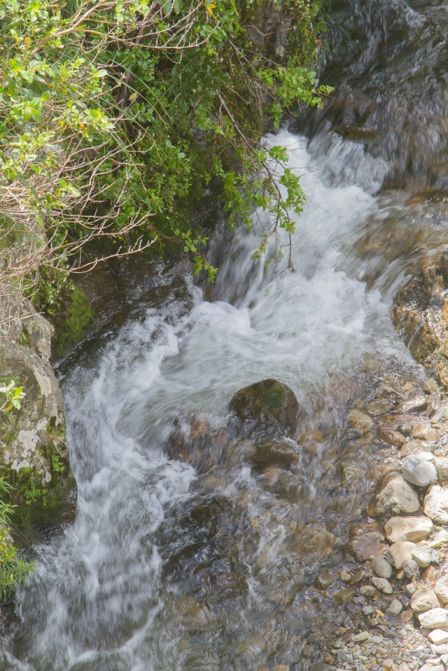 Tumbling waters