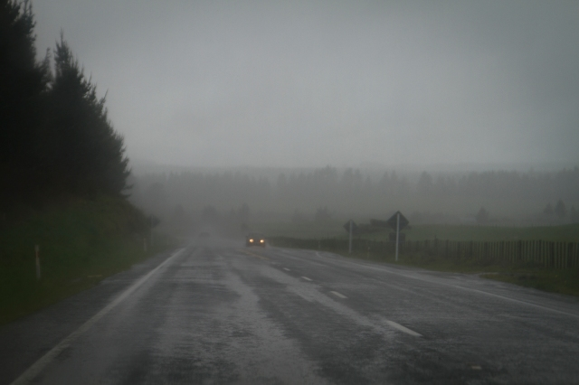 On the road near Turangi