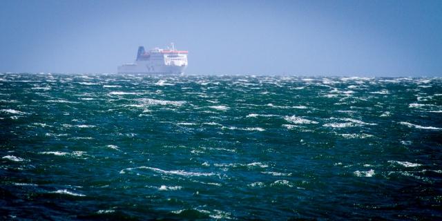 Kaitaki inbound from Picton