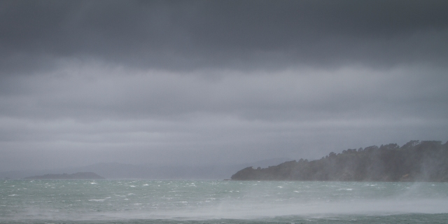 Evans' Bay squall