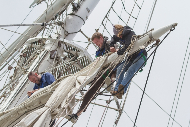 Sailmakers aloft