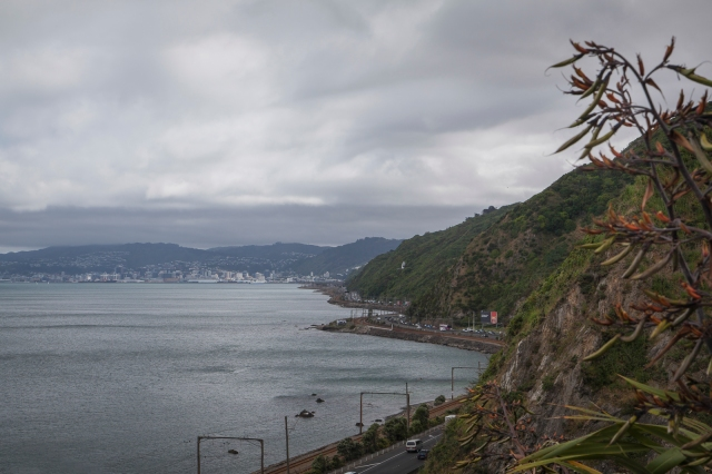 South along the harbour's edge to Wellington