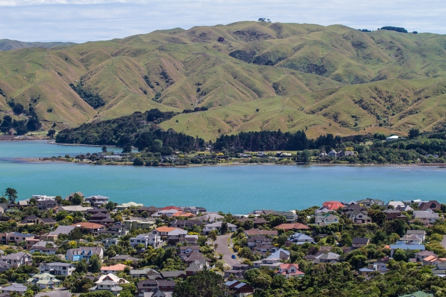 Across the pauatahanui Inlet from Silverwood