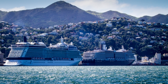 Celebrity Solstice and Oosterdam