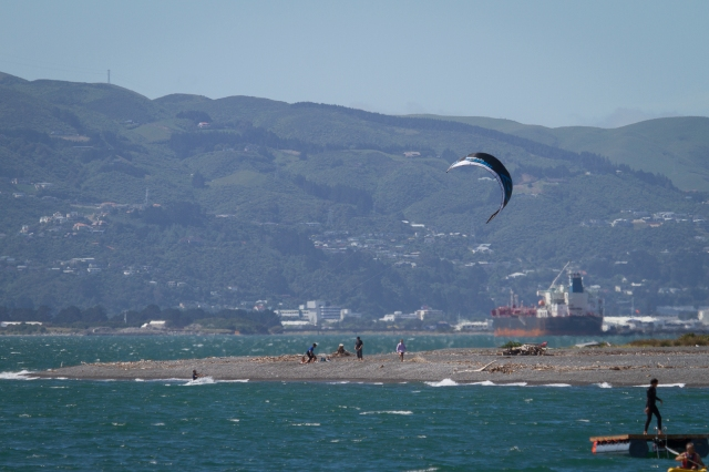 Kite Surfer in Day's Bay