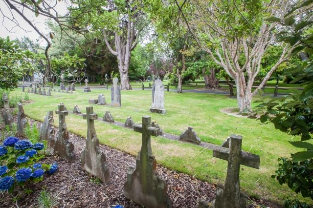 St James cemetery, Lower Hutt