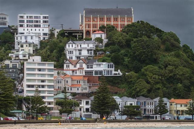 Oriental Bay architecture