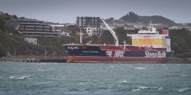 Stena Polaris at Miramar, NZ
