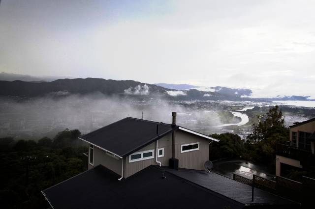 Mist in the Hutt Valley