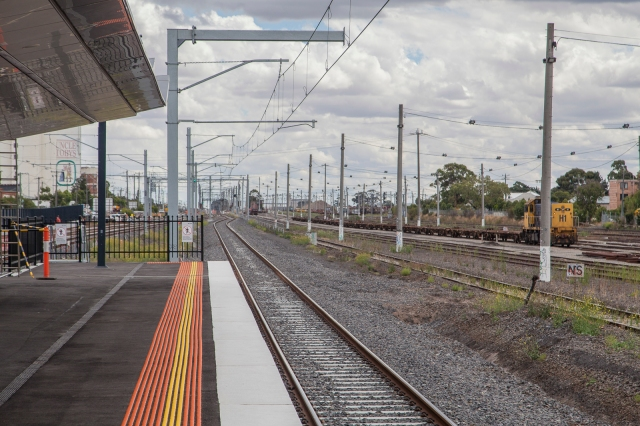 East Footscray station
