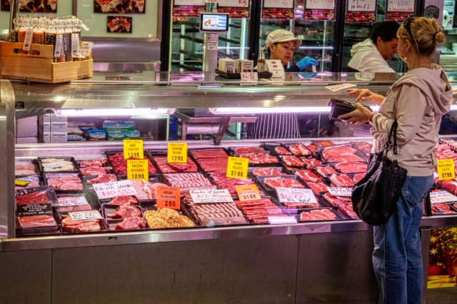 Meat in South Melbourne