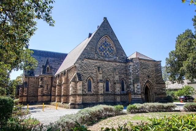 Anglican church on Acland Street, St Kilda