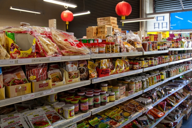Asian Market, Newtown
