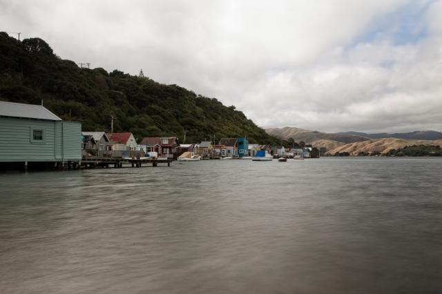 Boatsheds at Paremata