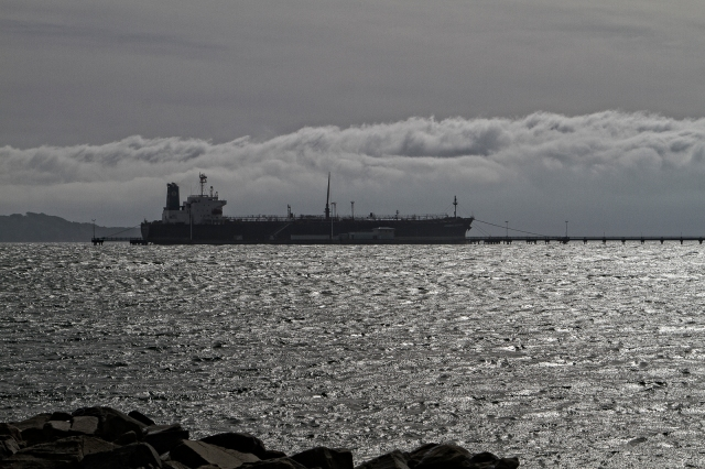 Tanker at Seaview