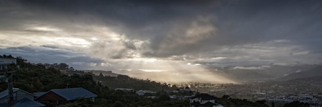 Hutt Valley sunrise