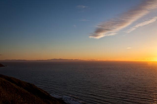 Cook Strait sunset
