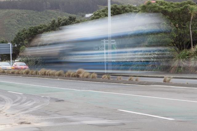 Esplanade traffic